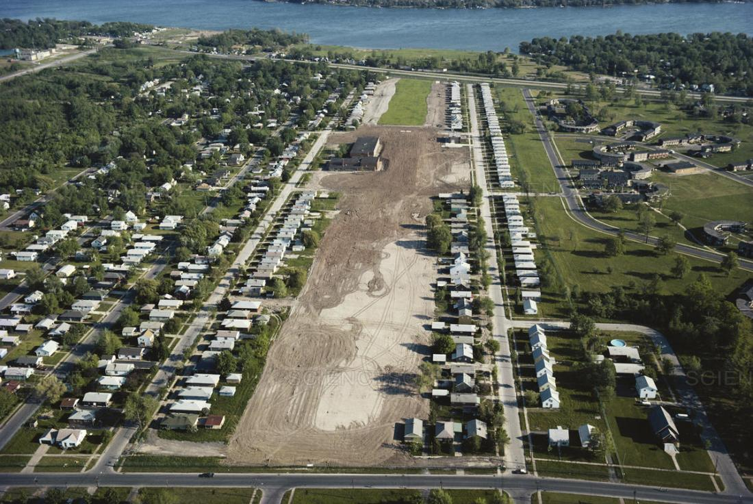 Love Canal aerial view